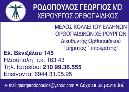 ροδοπουλος γεωργιος